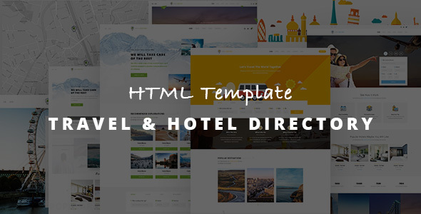 Image of Travel Listing - Responsive HTML Template