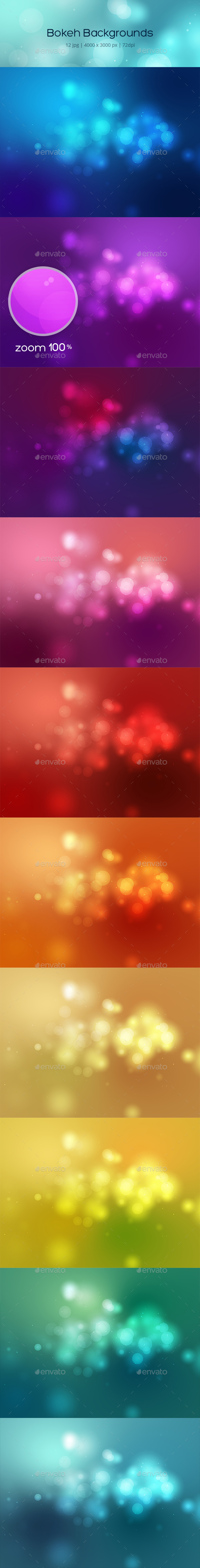 GraphicRiver Bokeh Backgrounds 20987961