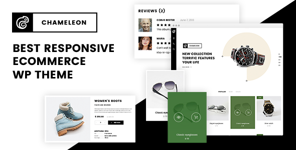 Chameleon - WooCommerce Modern Theme - WooCommerce eCommerce