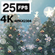 Christmas Tree Slide 4K - VideoHive Item for Sale