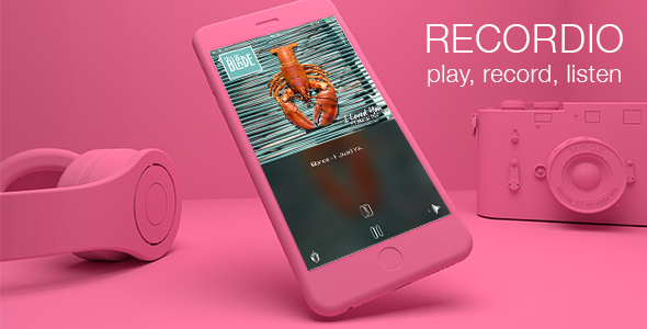 Recordio (Swift4, iOS 11, iPhone X, multi) - CodeCanyon Item for Sale