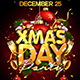 Xmas Day Party Flyer Template - GraphicRiver Item for Sale