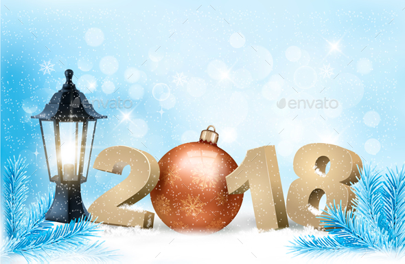 GraphicRiver New Year Background 20988527
