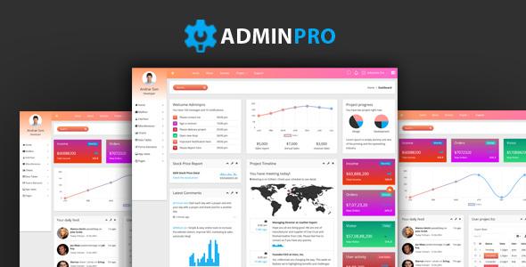 Image of Adminpro - Admin Template