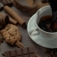 Cup of Hot Coffee with Cinnamon Sticks - VideoHive Item for Sale