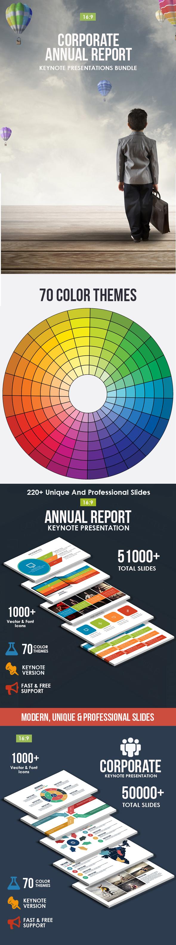 GraphicRiver Corporate & Annual Report 2 In 1 Bundle 20988796