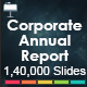 Corporate + Annual Report - 2 In 1 Bundle - GraphicRiver Item for Sale