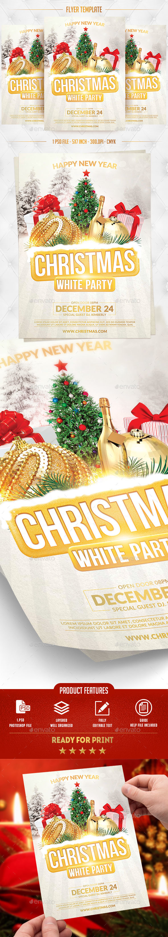 GraphicRiver Christmas Party Flyer Template 20988824