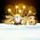 New Year Background with Fireworks - GraphicRiver Item for Sale