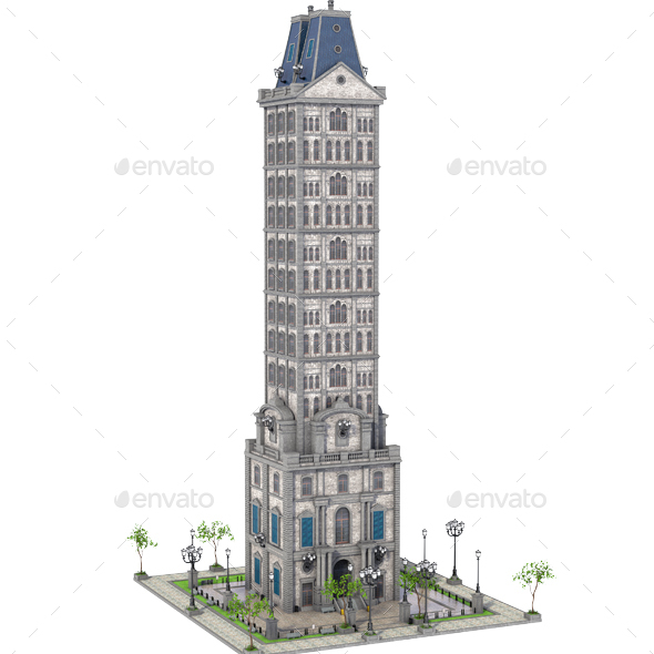 GraphicRiver Old SkyScraper 20988880