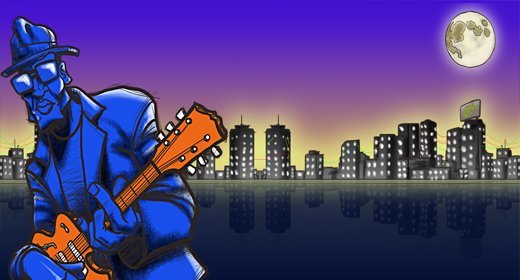 Blues,Funk