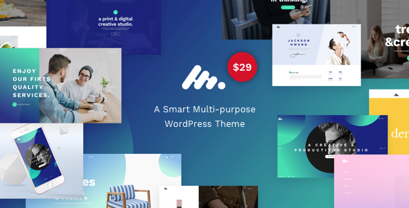 ThemeForest Moody A Modern & Flexible Multipurpose WordPress Theme 20524765