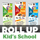 Junior School Promotional Roll-Up Banner - GraphicRiver Item for Sale