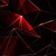 Red Polygonal Abstract Background