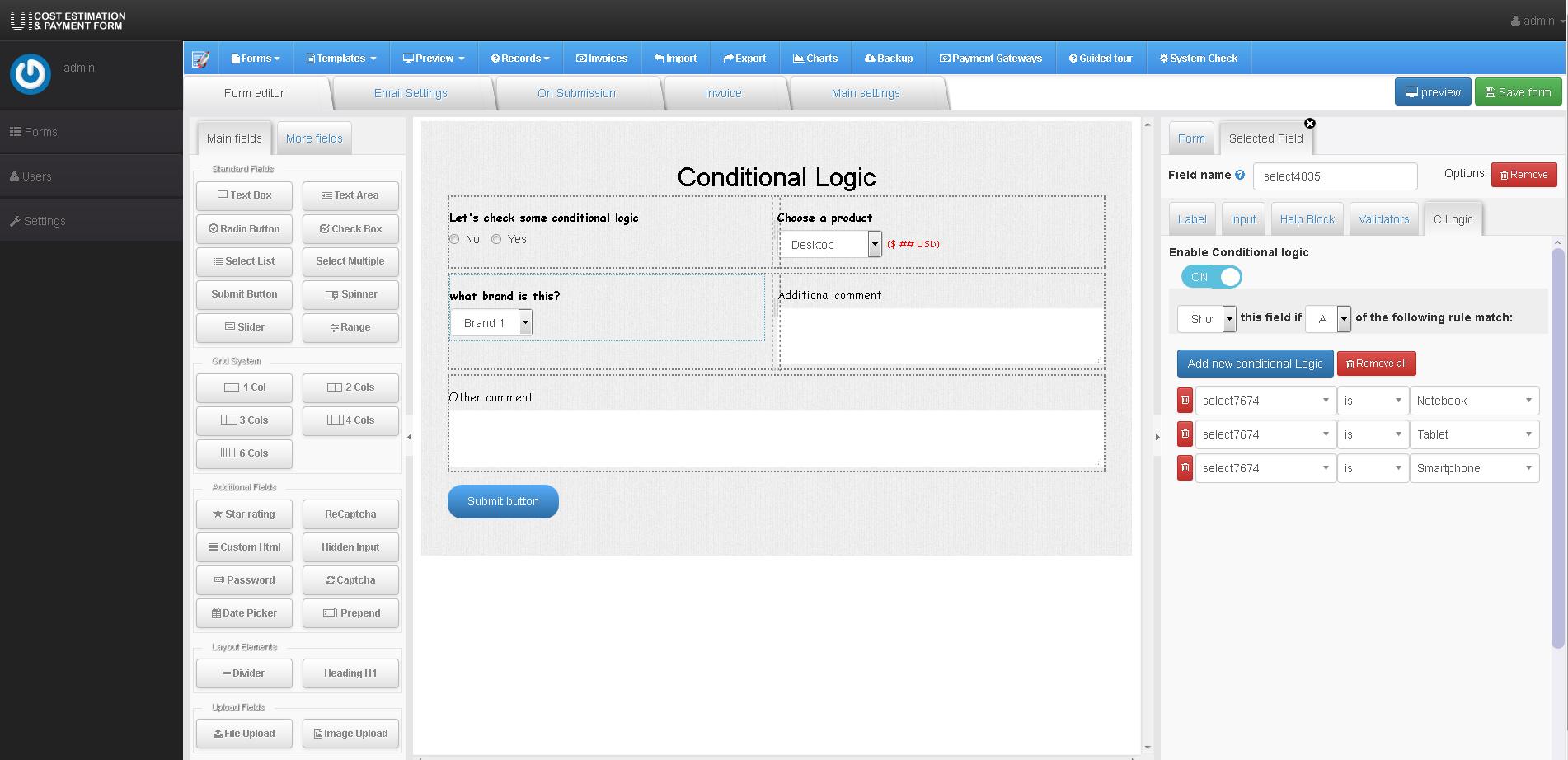Zigaform - PHP Calculator & Cost Estimation Form Builder by ...
