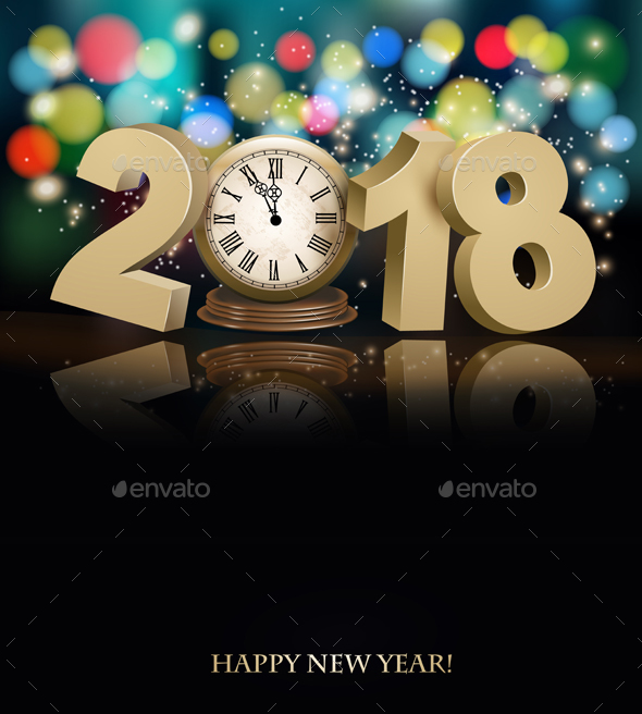 GraphicRiver New Year Background 20989276