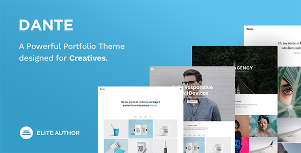 ThemeForest Dante Creative Portfolio Theme 19733958