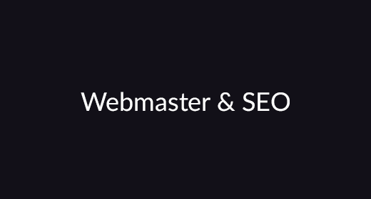 Webmaster & SEO Products