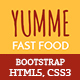 Yumme - HTML Template for Pizza, Food, Coffee & Drink Restaurant Bar Cafe Shop Takeaway Delivery