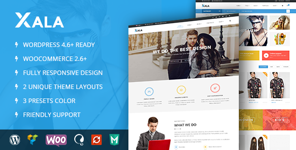 VG Xala - Clean and Responsive WooCommerce WordPress Theme - Business Corporate