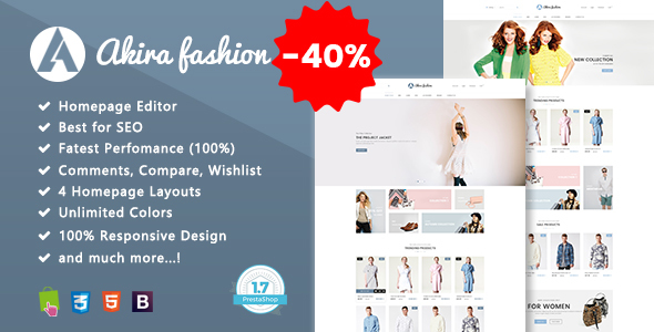 Image of Akira - Multipurpose Prestashop 1.7 Theme