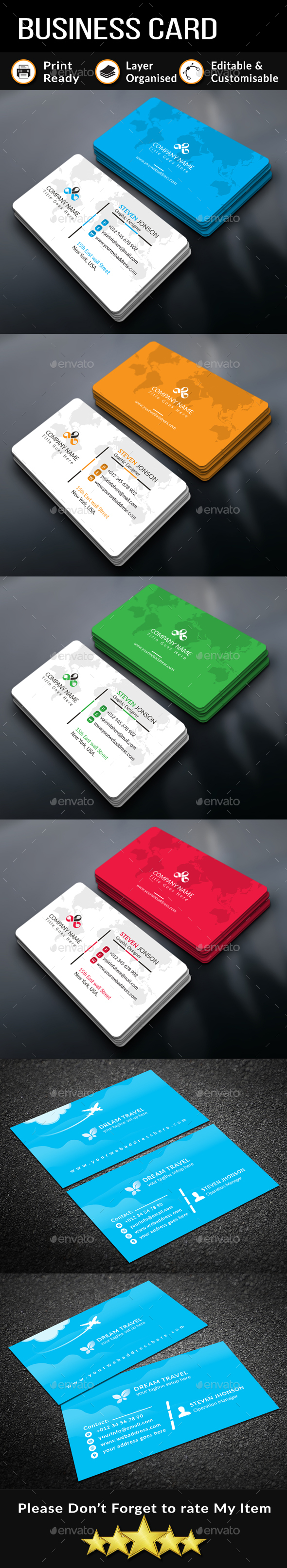 GraphicRiver Business Card Bundle 20989812
