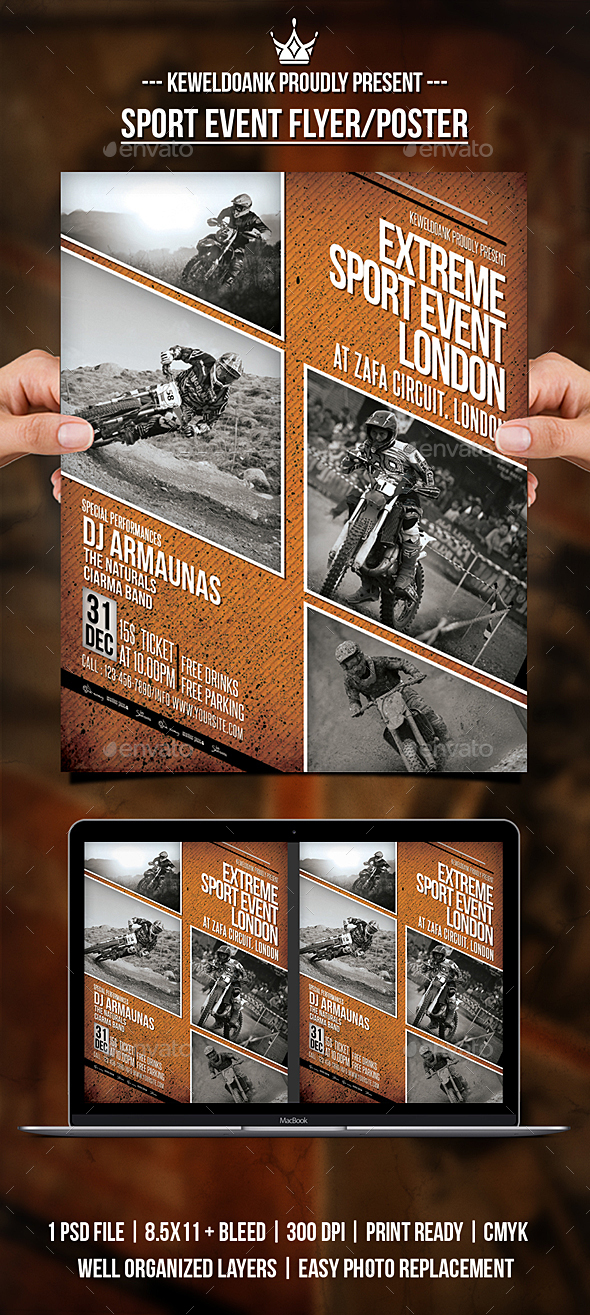 GraphicRiver Sport Event Flyer Poster 20989850