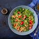 Dietary menu. Healthy vegan salad of fresh vegetables - PhotoDune Item for Sale