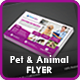 Pets Care Flyer Template