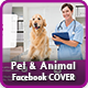 Pet Care Facebook Timeline Cover Template