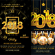 2018 New Year Party Flyer Bundle