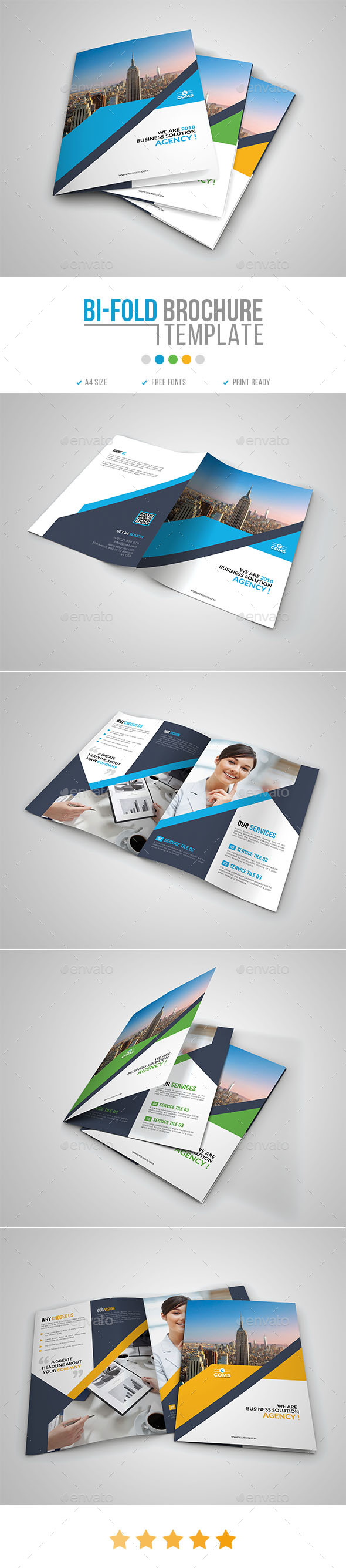 GraphicRiver Corporate Bi-Fold Brochure Template 11 20990146