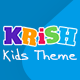 Krish Kids | Kindergarten, Kids Theme - ThemeForest Item for Sale