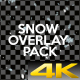 Snow Overlay Pack - VideoHive Item for Sale