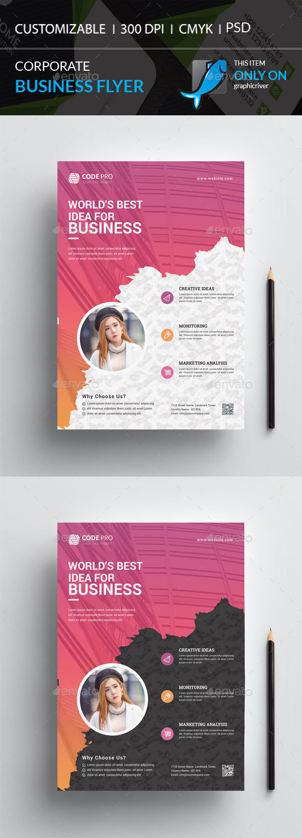 GraphicRiver Corporate Flyer 20990324