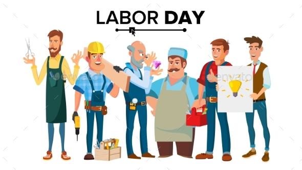 GraphicRiver Labor Day Vector 20990480