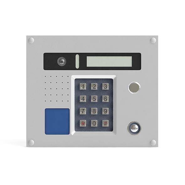 3DOcean External Intercom 3D Model 20990492