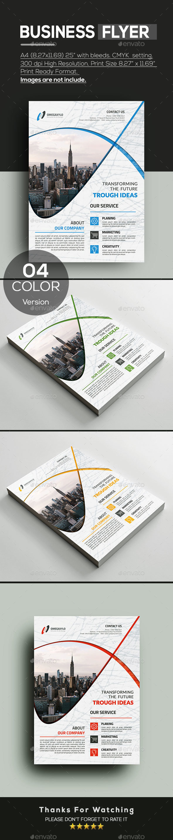 GraphicRiver Business Flyer 20990768