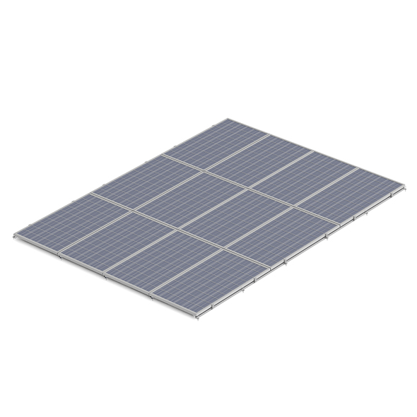 3DOcean Large Solar Panel 3D Model 20990986