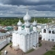 Aerial Survey the Kremlin in Rostov the Great City - VideoHive Item for Sale