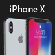 iPhone X 3D | Cinema 4D + Element 3D
