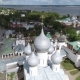 Aerial Survey of the Kremlin in Rostov the Great City - VideoHive Item for Sale