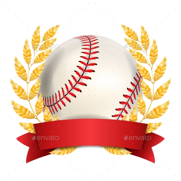 Baseball Award Vector - Sports/Activity Conceptual