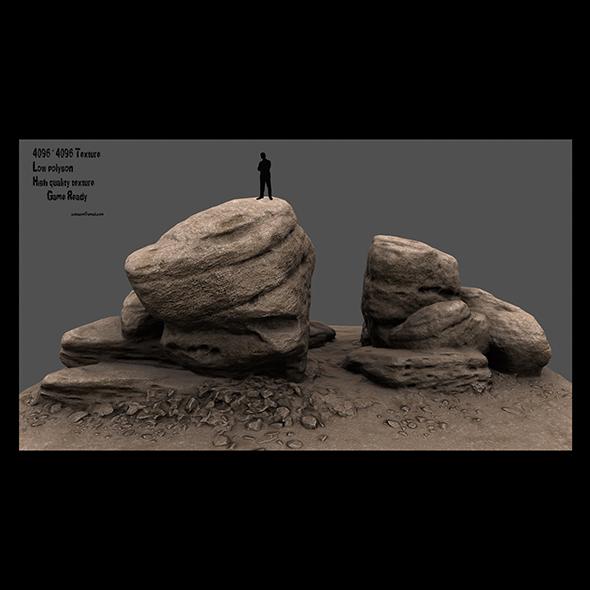 3DOcean rock 2 20991108