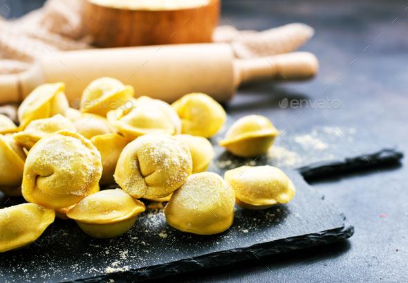 raw dumplings - Stock Photo - Images