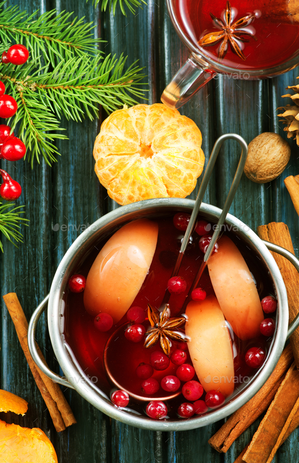 christmas drink - Stock Photo - Images