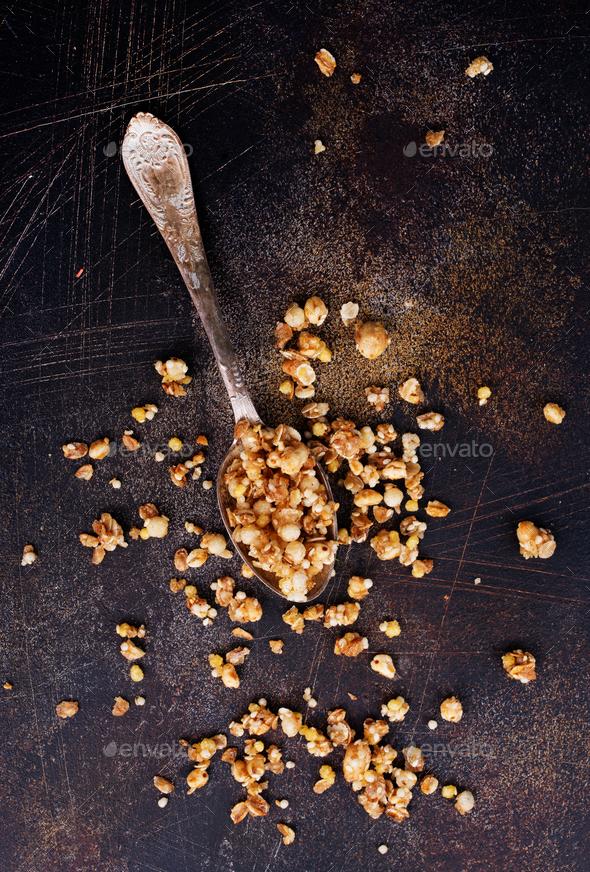 granola - Stock Photo - Images