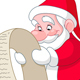 Santa with List - GraphicRiver Item for Sale