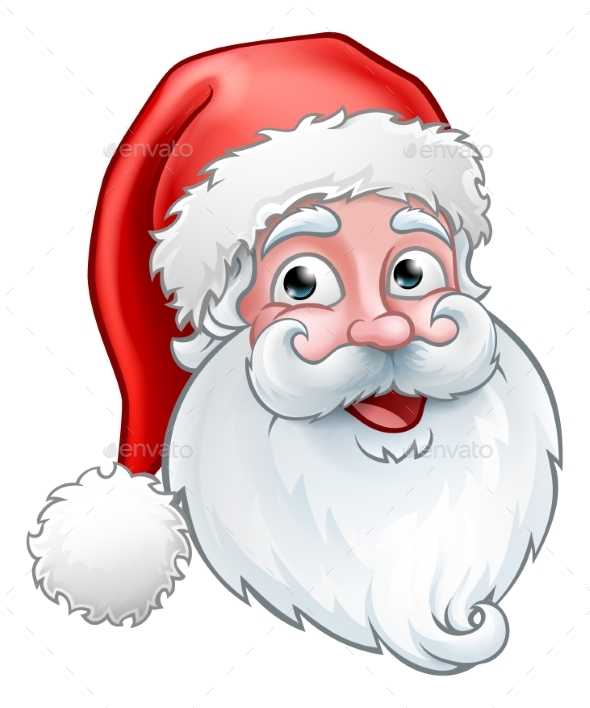GraphicRiver Christmas Santa Claus Cartoon 20991359