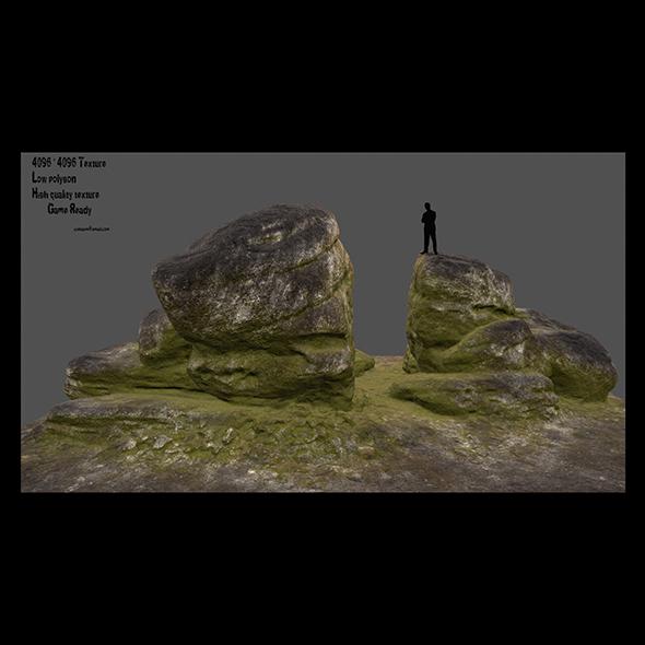 3DOcean desert rocks 3 20991389
